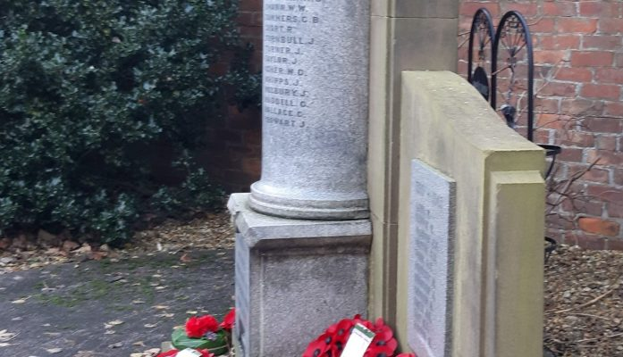 Remembrance Services November 2020  -  Choppington, Guide Post and Stakeford Memorials